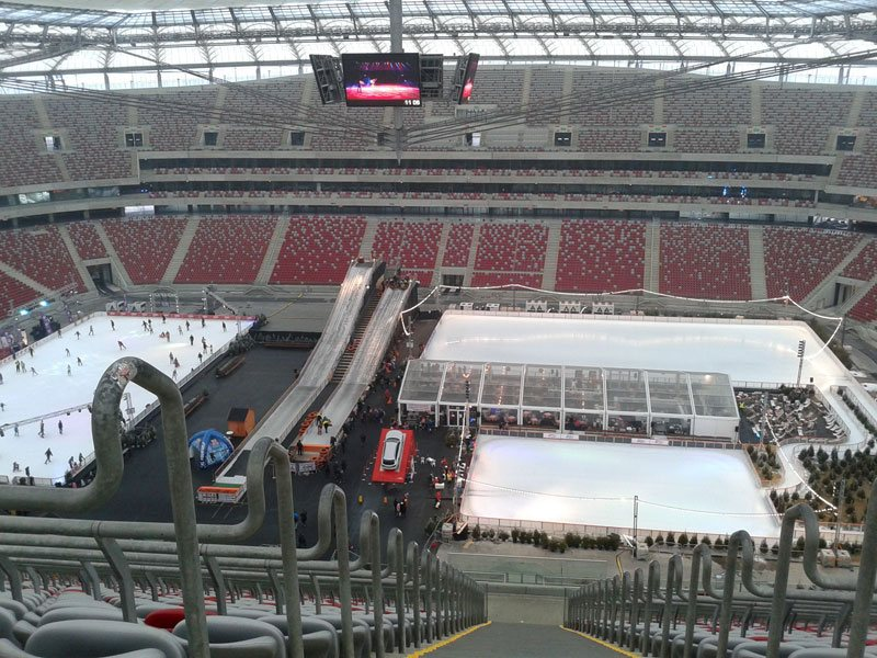 The National Stadium; Winter National event