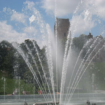 The Multimedia Fountain Park, the main fountain